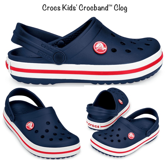 Crocs Kids Crocband Clog Navy Prince George June 2015 with Title