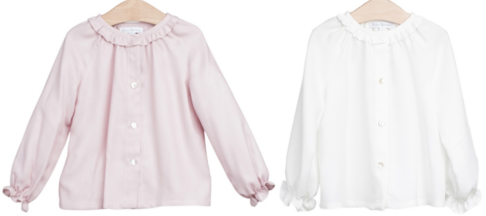 Burattino Intro Two Fina Ejerique Blouse Ruffle Collars May 15 2016