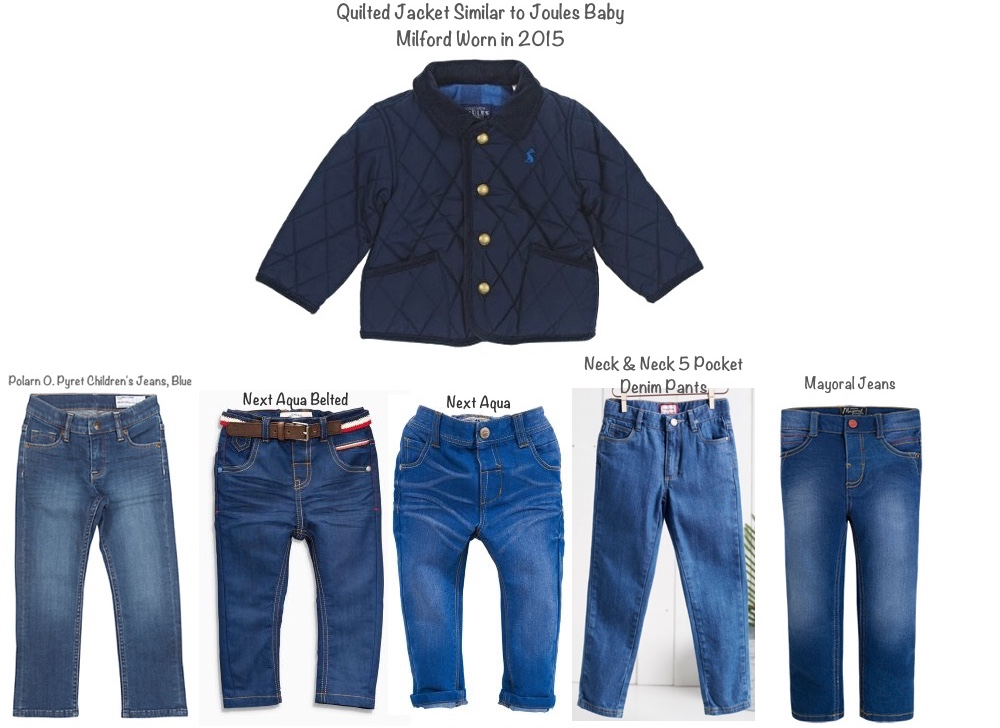 Prince George Houghton Hall Joules Baby Millford and Jeans Denim Possibilities May 31 2016
