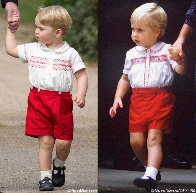 What Kate's Kids Wore | About Those Shorts Prince George ...