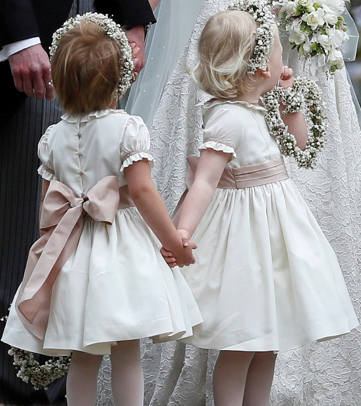Pippa Middleton Wedding Reception Dress: George And Charlotte Wow The Crowd