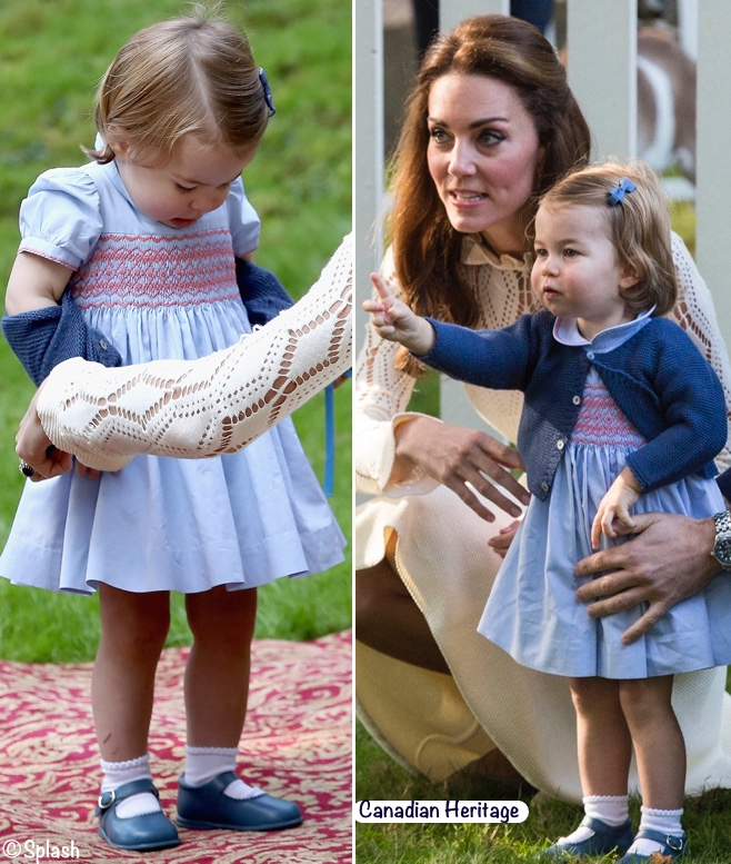 3273aebeb What Kate's Kids Wore   How to Make Princess Charlotte's Dresses Yourself