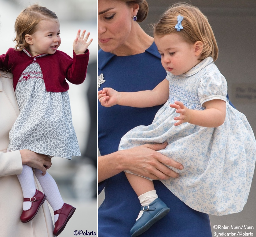 Princess Charlotte Canada Floral Flower Dresses Kate Middleton