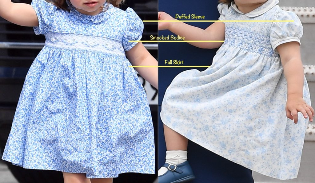 What Kate S Kids Wore How To Make Princess Charlotte S Dresses