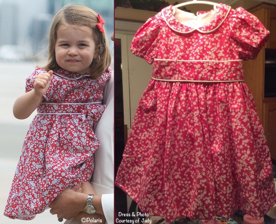 8e20ed45ff83 What Kate's Kids Wore | How to Make Princess Charlotte's Dresses Yourself