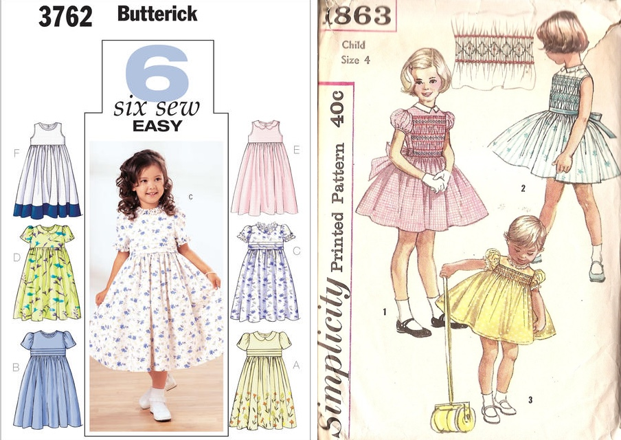 "834bdfc38 Using search terms like ""classic girls dress pattern"" or ""vintage patterns toddler  girl"" on sites like etsy and eBay provides lots of results."